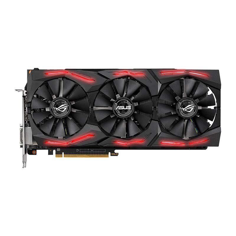 Видеокарта AMD Radeon RX VEGA64 ASUS STRIX GAMING 8G (ROG-STRIX-RXVEGA64-O8G-GAMING)