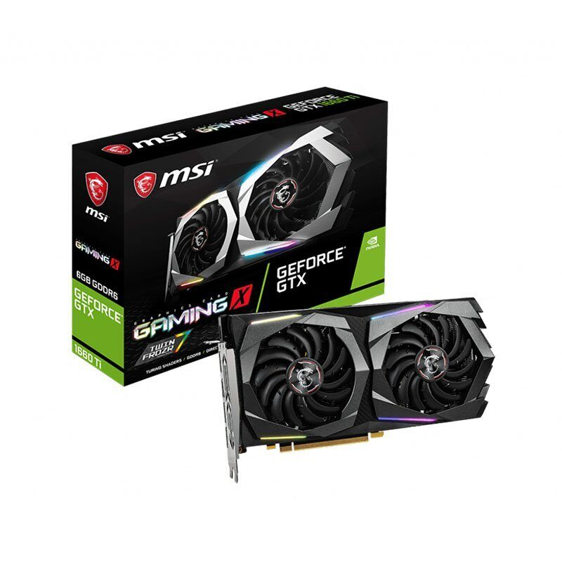 Видеокарта nVidia GeForce GTX1660 Ti MSI  GAMING X 6G (GAMING X 6G)